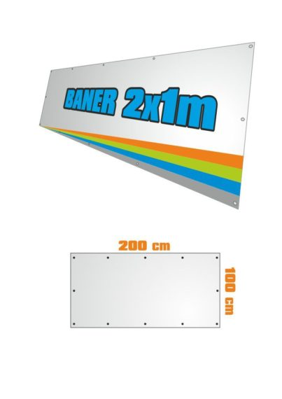 Banner 200x100 cm