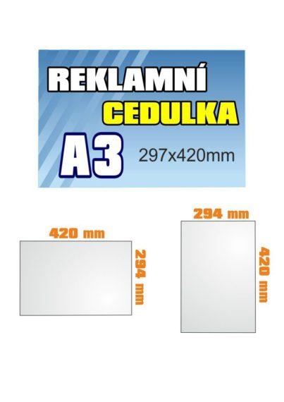 PVC 3mm A3