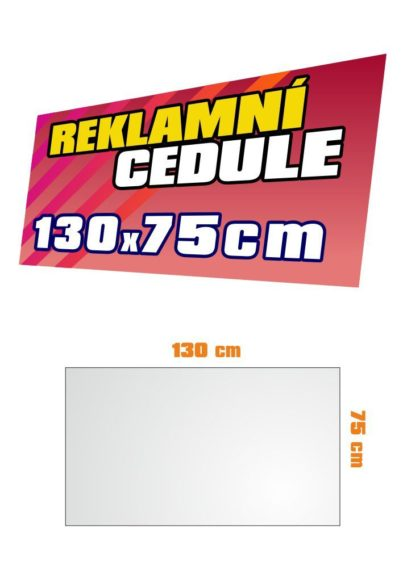 PVC 3mm 130x75cm