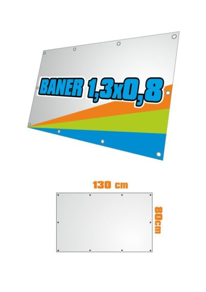Baner 130x80 cm