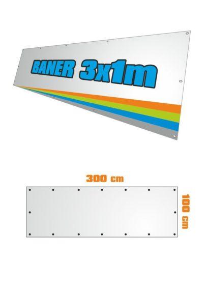 Banner 3x1m
