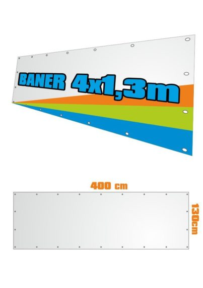 Baner 130x400 cm