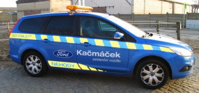 Asistenční vozidlo