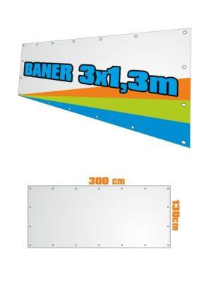 Banner 300x130 cm
