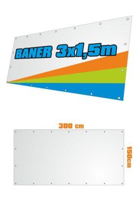 Banner 300x150 cm