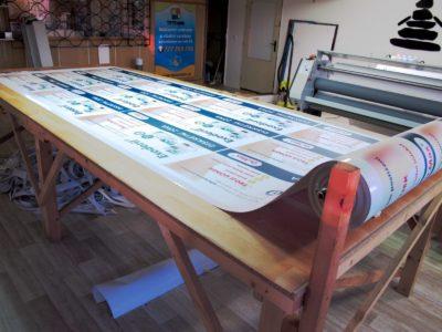 Podlahové samolepky - výroba