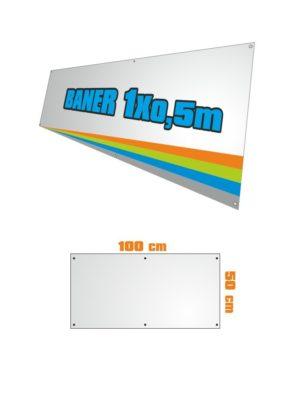 Banner 100x50 cm