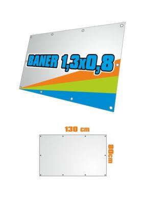 Banner 130x80 cm