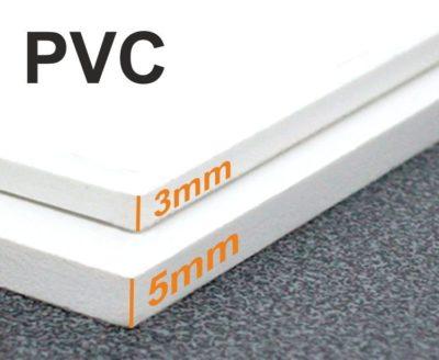 Plastové cedule 3 a 5mm